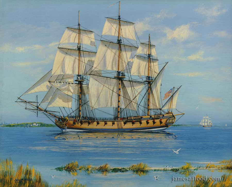 USS Boston 1776