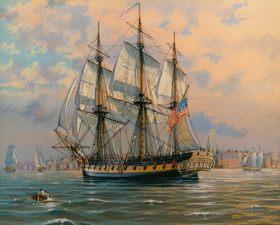 USS Boston 1799