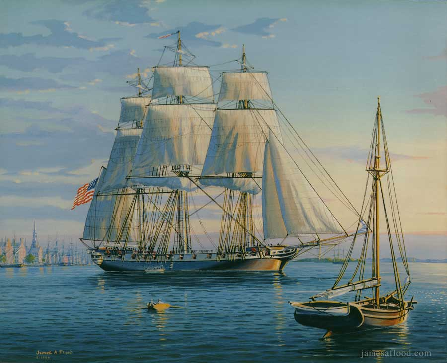 USS Boston 1840