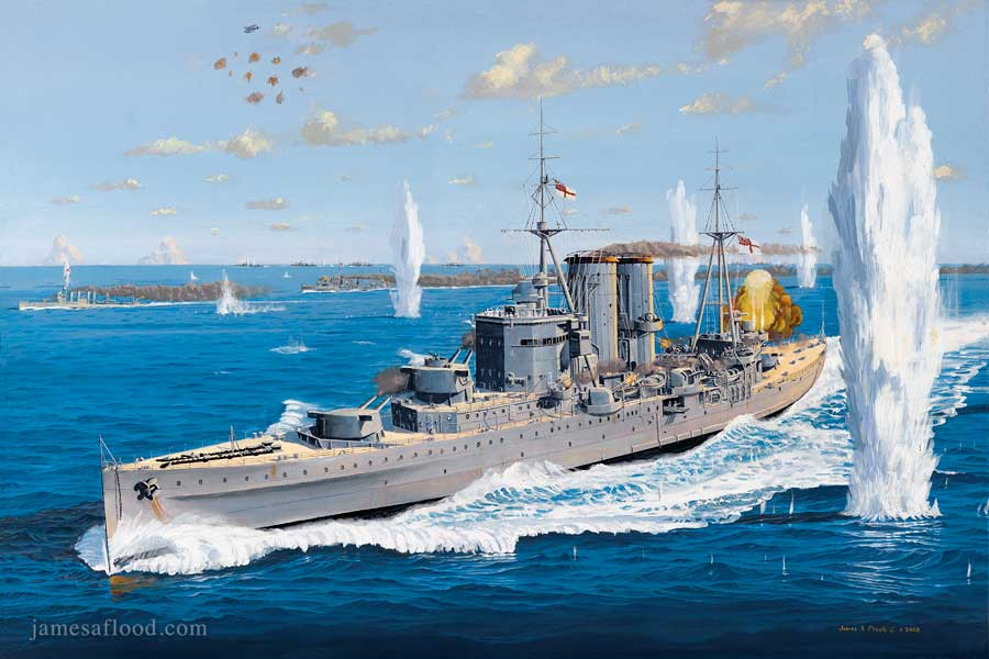 HMS Exeter's Final Battle