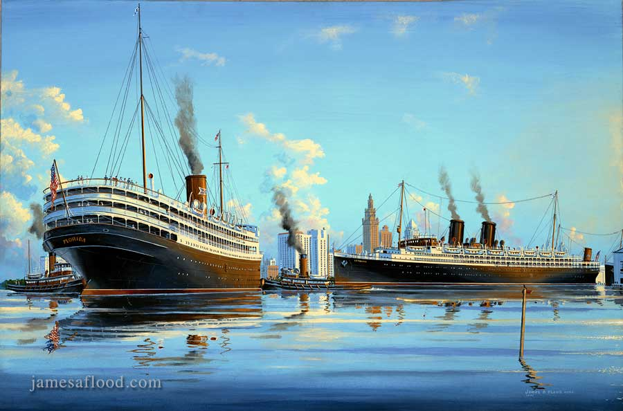 SS Florida and Iroquois