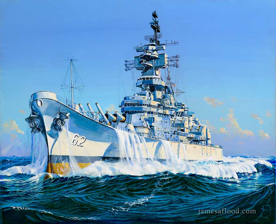 USS New Jersey Version 2