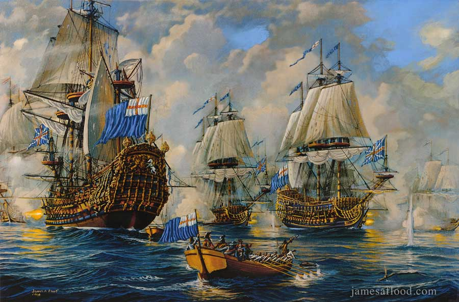 Battle of Texel, 1673