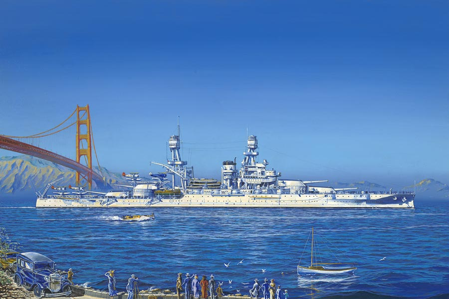 USS Pennsylvania, San Francisco