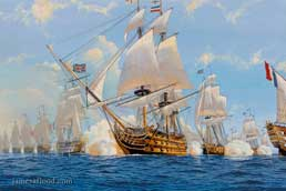 HMS Victory Battle of Trafalgar, 1805